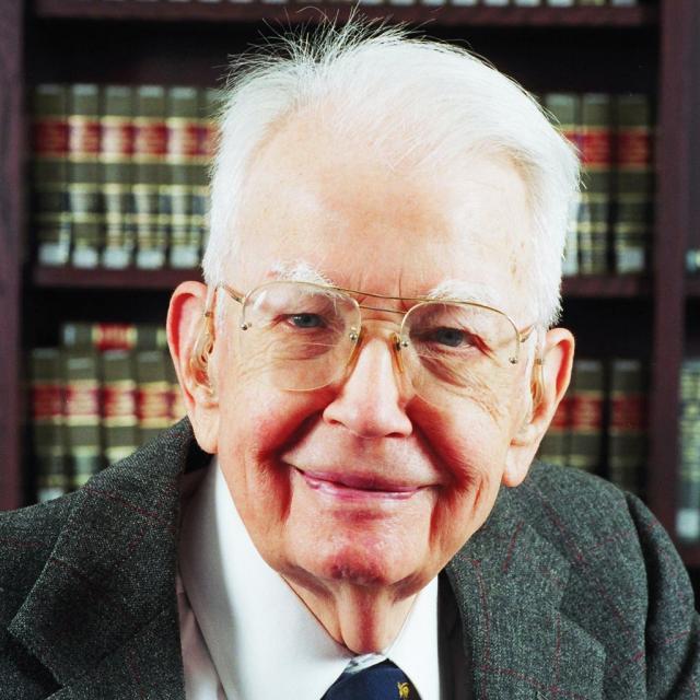 Ronald Coase et son théorème, figures emblématiques du marché