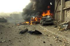 Attentat à la voiture piégée en Irak (Image d'archives de 2006)