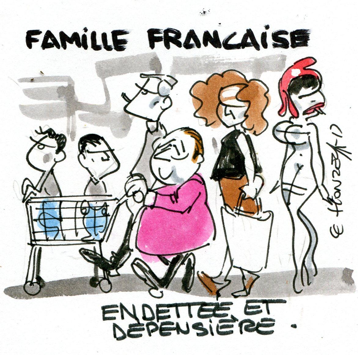 Une famille qui vivrait comme l'État, ça donnerait quoi ?