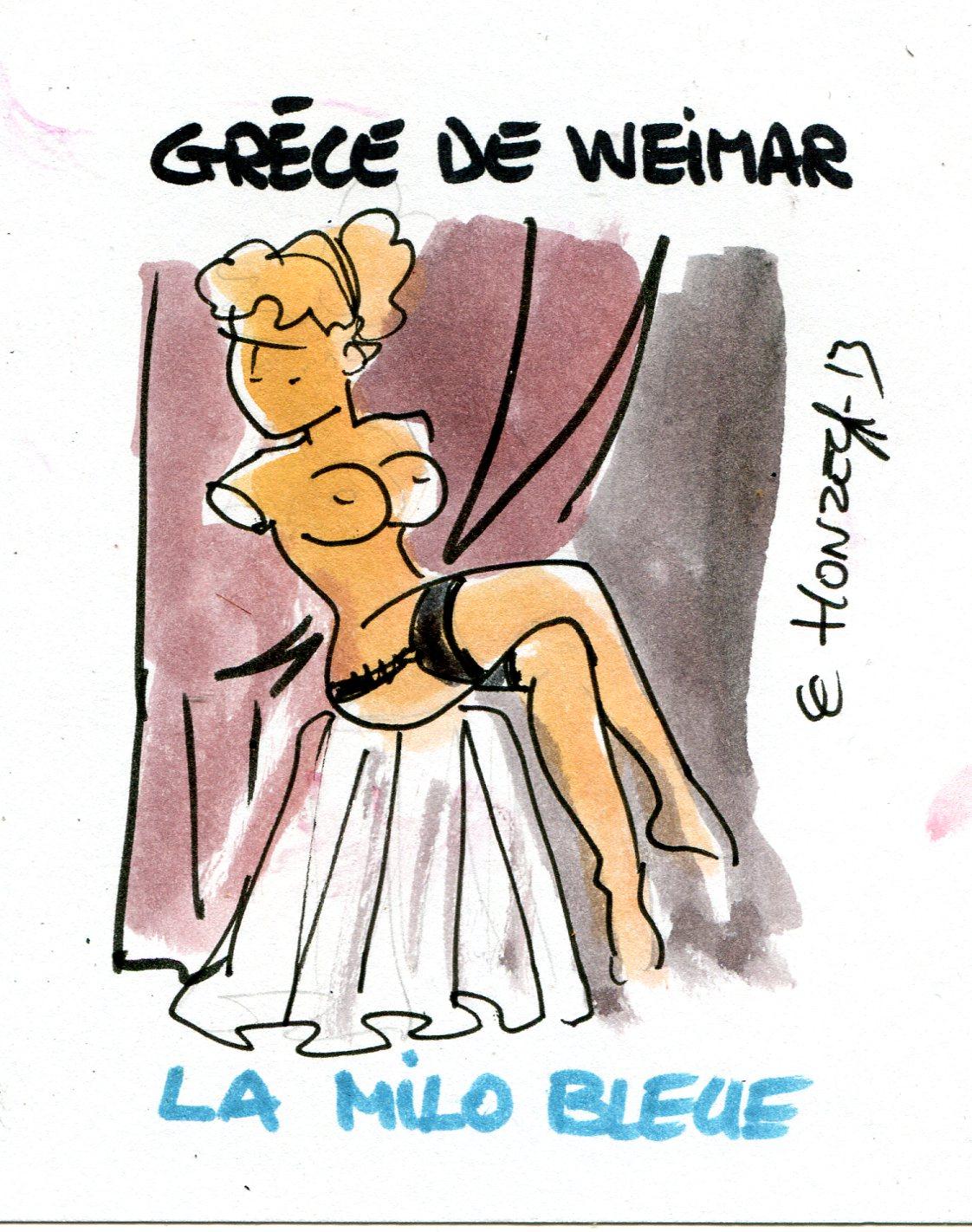 La Grèce commence à ressembler à l'Allemagne de Weimar