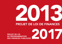 Une du Projet de Loi de Finances 2013