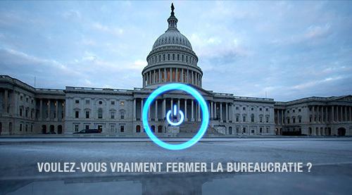 """Le """"shutdown"""" américain donne la fièvre aux étatistes français"""