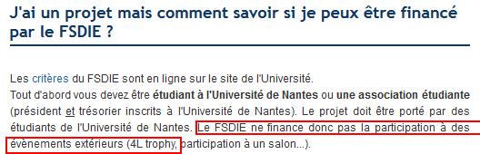 FSDIE Nantes