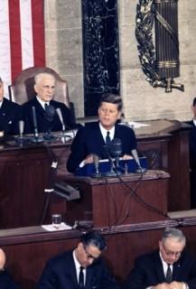 Discours sur l'état de l'Union de Kennedy en 1963 (Libre de droits)