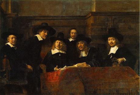 Rembrandt_-_Klesveverlaugets_forstandere_i_Amsterdam