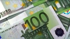 euro money green