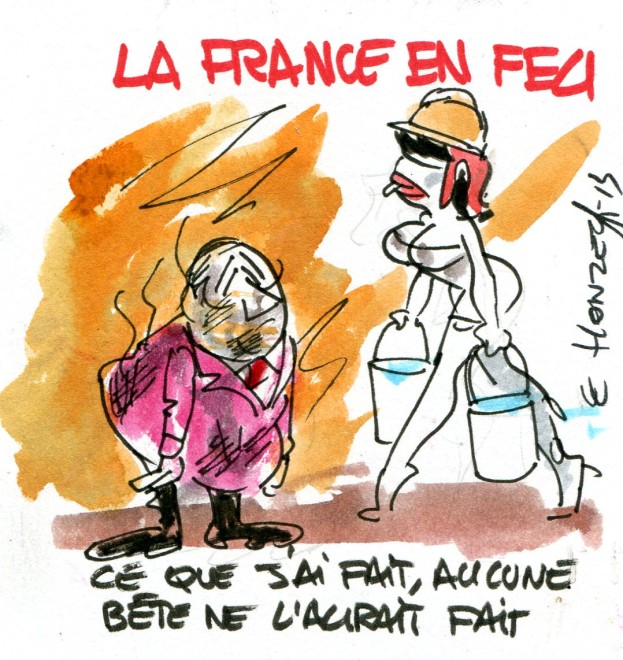 imgscan contrepoints 2013-2372 France en feu