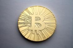 Bitcoin (Crédits : Antanacoins, licence Creative Commons)