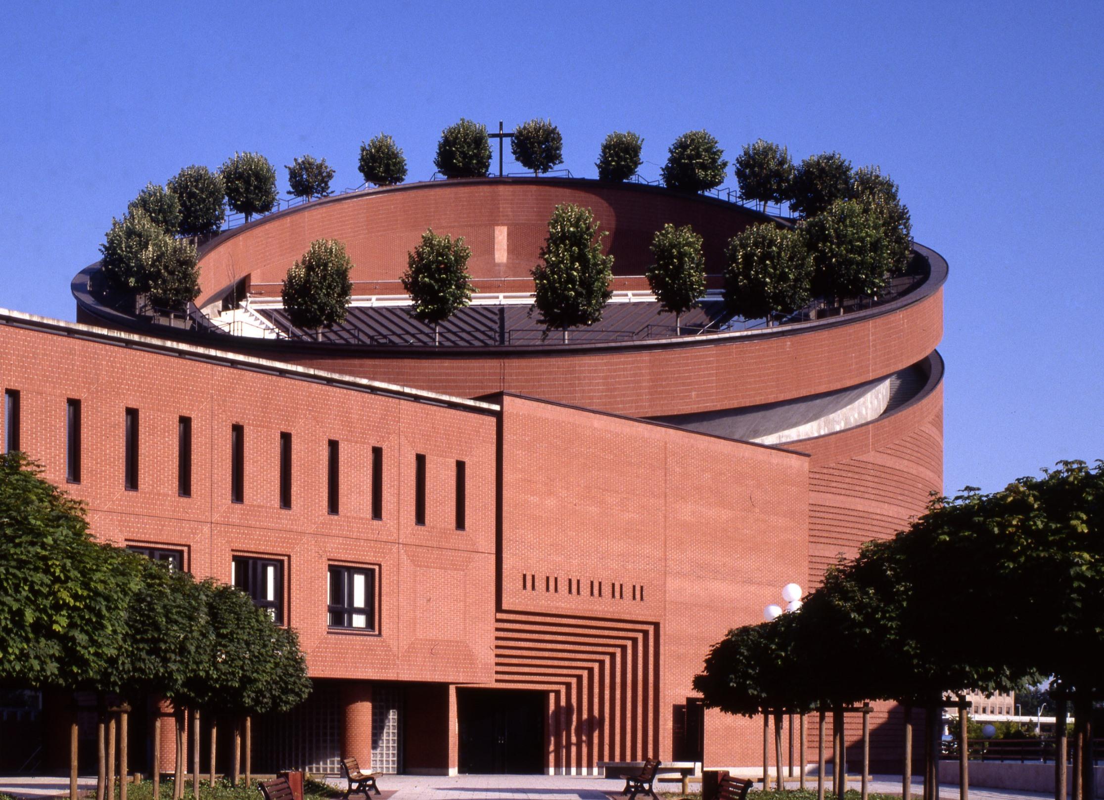Cathédrale de la Résurrection © Mario Botta Architects_Pino Musi