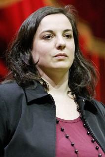 Emmanuelle Cosse, secrétaire nationale d'EELV (Crédits Marie-Lan Nguyen Creative Commons)