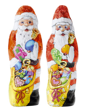 L'histoire étonnante du Père Noël en chocolat   Contrepoints