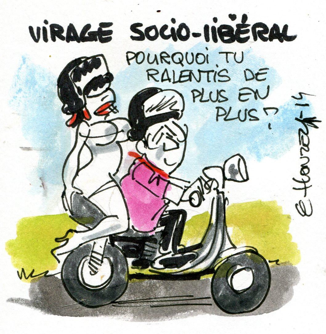 Cirage social-libéral (Crédits : René Le Honzec/Contrepoints.org, licence Creative Commons)