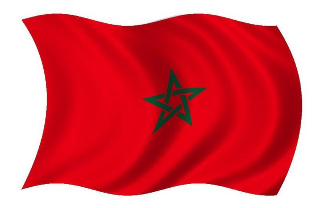 drapeau maroc CC Paille