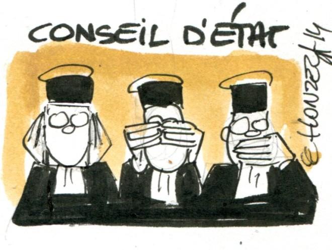 Conseil d'Etat (Crédits : René Le Honzec/Contrepoints, licence Creative Commons)