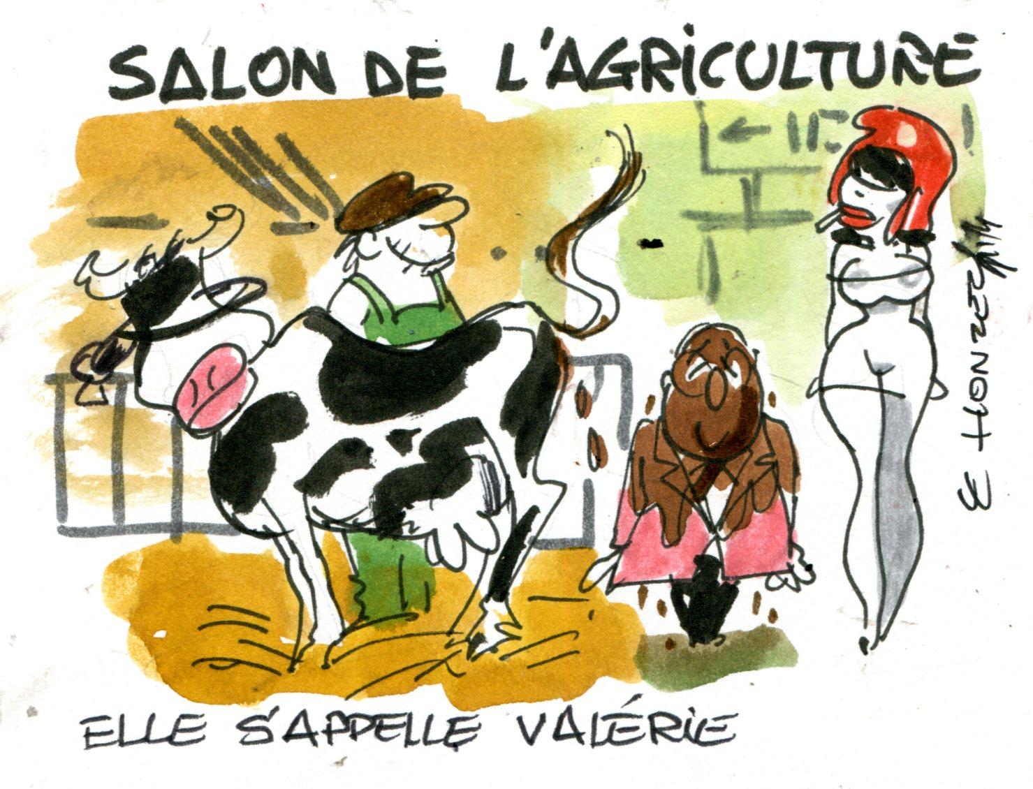 Hollande inaugure le salon de l 39 agriculture contrepoints - Salon de agriculture ...