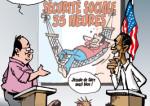 """""""Modèle français"""" versus """"Rêve américain"""""""