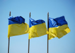 Drapeaux ukraine (Crédits Vladimir Yaitskiy, licence Creative Commons)