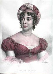 Germaine de Staël (Image libre de droits)