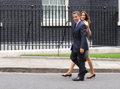 Nicolas Sarkozy et Carla Bruni (Crédits : 10 Downing Street, licence Creative Commons)