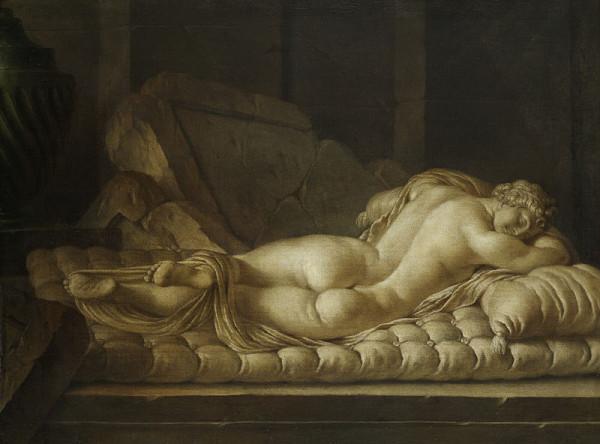 Hermaphrodite-Borghese--Louis-Gabriel-Blanchet--1765