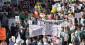 Démonstration de masse contre les éoliennes en Irlande à Dublin