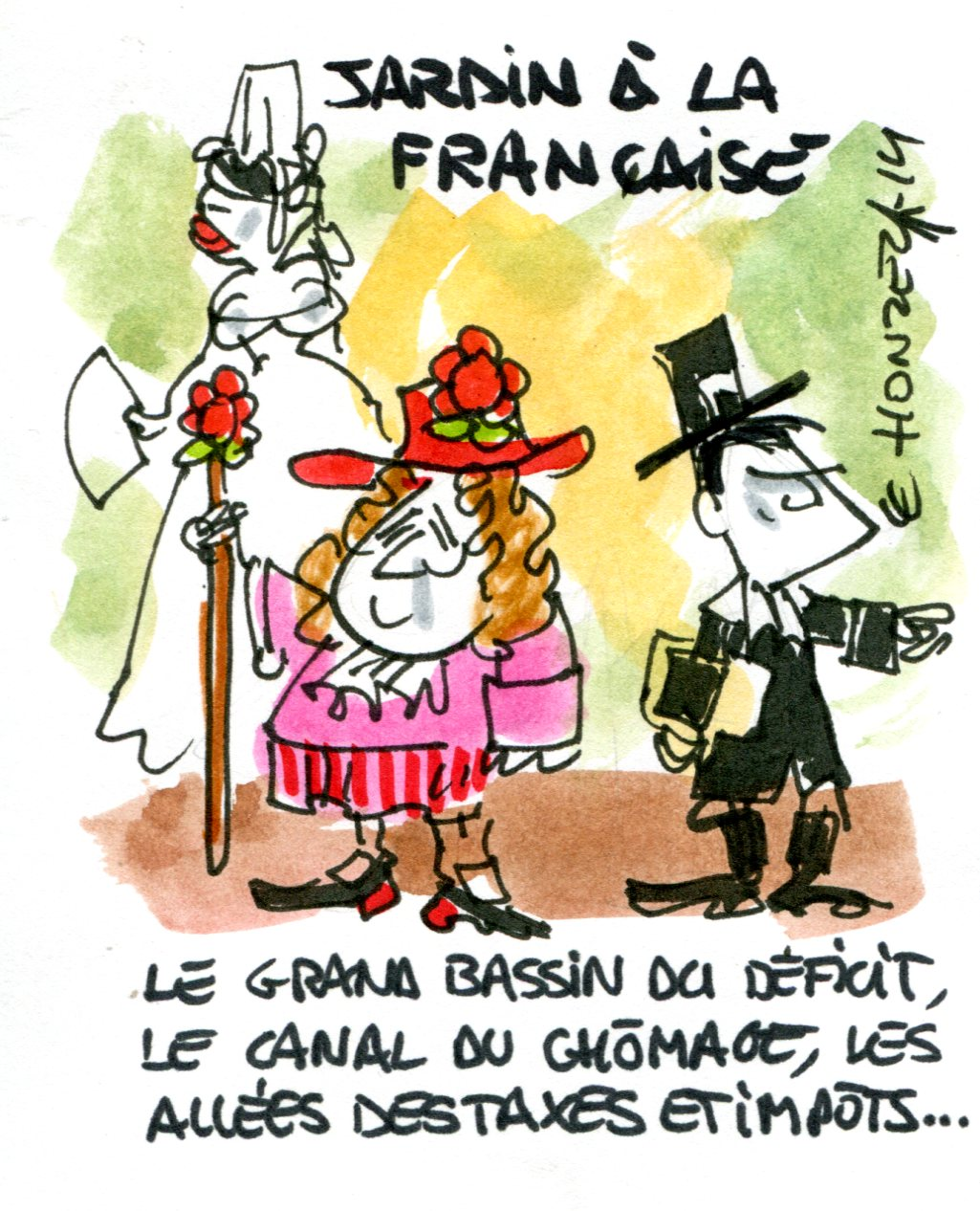img contrepoints256 Jardin à la française
