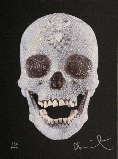 Damien Hirst Original screenprint with Diamond Dust,