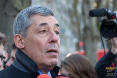 Henri Guaino en février 2014 (Crédits : ANFAD, licence Creative Commons)