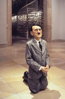 Maurizio Cattelan Him, 2001.