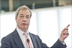 Nigel Farage (Crédits European Parliament, licence Creative Commons)