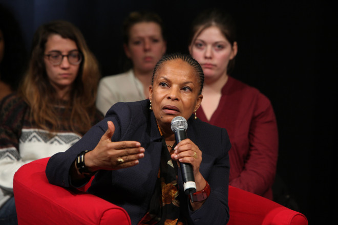 Christiane Taubira (Crédits Philippe Grangeaud-Parti Socialiste, licence Creative Commons)