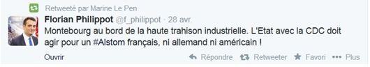 Tweet Florian Philipot