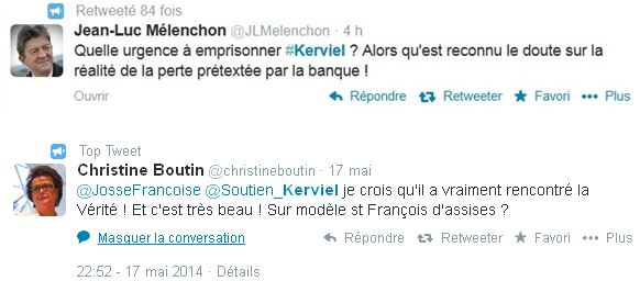 Tweets Kerviel
