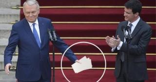 Mais qu'y avait-il dans les 3 enveloppes données à Valls par Ayrault ?