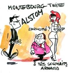 rlh - montebourg twitte alstom