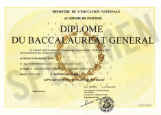 Diplôme du baccalauréat (Domaine public)