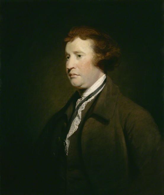 Edmund Burke (Atelier de Sir Joshua Reynolds, image libre de droits)