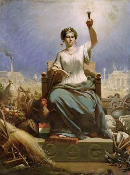 France éclairant le monde