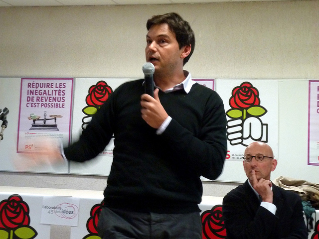 Thomas Piketty (Crédits : PS du Loiret, licence Creative Commons)