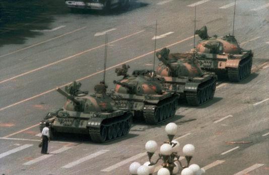 Tankman Place Tian Anmen