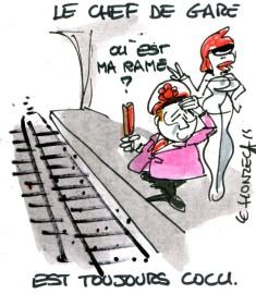 Grève SNCF (Crédits : René Le Honzec/Contrepoints.org, licence Creative Commons)