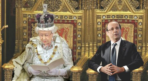 hollande ferait bien de s inspirer de la reine d angleterre contrepoints. Black Bedroom Furniture Sets. Home Design Ideas