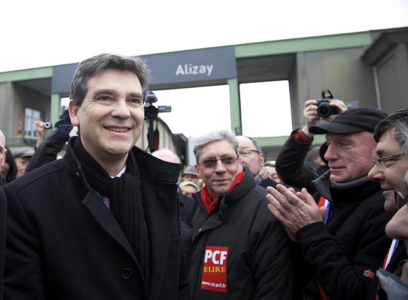 Arnaud Montebourg (Crédits : Mathieu Delmestre-Parti Socialiste licence Creative Commons)