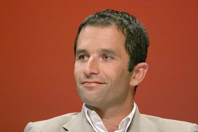 Benoit Hamon (Crédits philippe grangeaud-solfé communications licence Creative Commons)