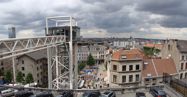 Bruxelles panoramique (Crédits : Ines Saraiva, licence Creative Commons)
