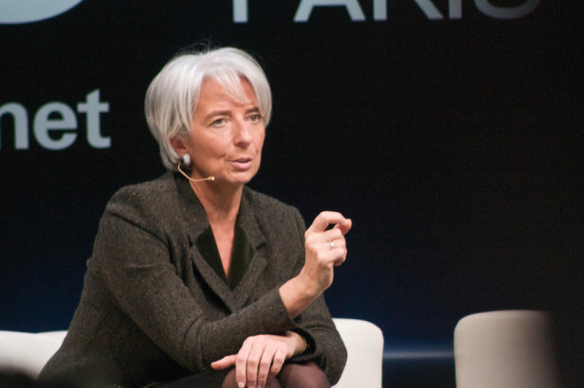 "Christine Lagarde (Crédits Adam Tinworth, <a href=""https://creativecommons.org/licenses/by-nc/2.0/"" target=""_blank"">licence CC-BY-NC 2.0</a>), via <a href=""https://www.flickr.com/photos/adders/"" target=""_blank"">Flickr</a>."