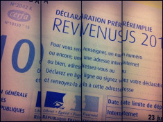 Déclaration d'impôt sur le revenu (Crédits Stéphane DEMOLOMBE, licence Creative commons)