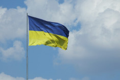 Drapeau Ukraine (Crédits Vladimir Yaitskiy, licence Creative Commons)
