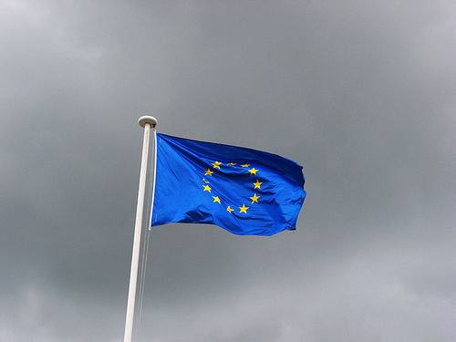 Drapeau européen (Crédits Erwan F, licence Creative Commons)