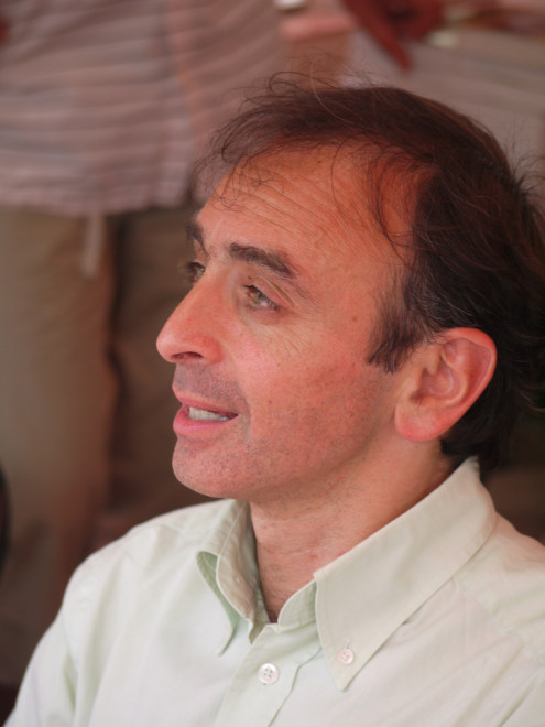 Eric Zemmour en 2010 (Crédits yves Tennevin, licence Creative Commons)